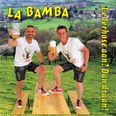 La Bamba-Lederhose aan. Dan draan
